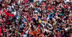 Lula se entregó a la Policía Federal de Brasil (+ fotos)