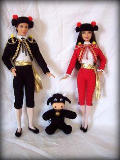 Barbie e Ken toreador