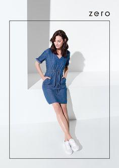 Lässiges Jeanskleid von Zero! #EuropaPassage #EuropaPassageHamburg #style #fashion #mode #trend #outfit