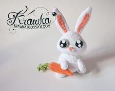 Krawka: Snowball rabbit white bunny crochet pattern from secret life of pets movie
