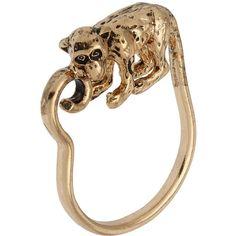 Monkey Ring ($6) found on Polyvore