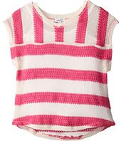 Rugby Stripe Loose Knit Top And Cami Sweater (Big Kid) Splendid Littles