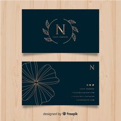 Fashion Business Cards, Create Business Cards, Professional Business Card Design, Elegant Business Cards, Business Card Logo, Business Design, Vintage Business Cards, Corporate Design, Logo Simple