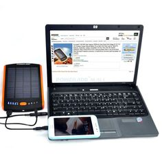 23000mAh iPhone 5 Solar Panel Charger for Android Tablet iPhone 5S 6