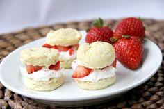 Mini Strawberry Shortcakes With Surprise Ingredient #Food #Drink #Trusper #Tip