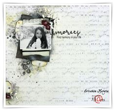 """13arts: Layout """"Memories"""" by Maryse"""