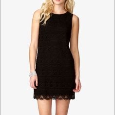Forever21 Lbd With Crochet Front