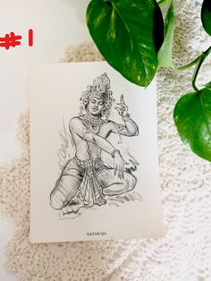 Stunning prints of a pencil sketch of Indian gods shiva parvathi. Each Art print measures 7.5 x 5.5 inches approximately. Edges show wear. A few dirt marks. Yellowing due to age. Please look at the pictures carefully and if you have any questions about the item, I am happy to help and will respond as soon as possible. For more vintage art https://www.etsy.com/shop/VintageArtsCo