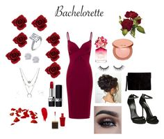 """""""Bachelorette ready!❤️"""" by jeanellerosemarie on Polyvore featuring Aloura London, Effy Jewelry, DesignB London, Christian Dior, Tom Ford, Marc Jacobs, tarte, Rodin, Miss Selfridge and Gucci"""