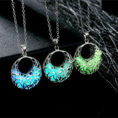 Hot trending item: Dark Silver Hollo... Check it out here! http://jagmohansabharwal.myshopify.com/products/dark-silver-hollow-glowing-stone-pendant-necklace-for-women?utm_campaign=social_autopilot&utm_source=pin&utm_medium=pin