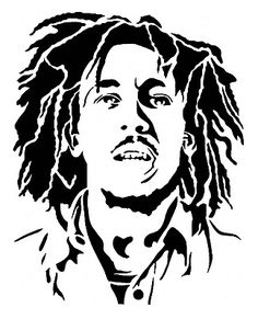 Young Bob Marley Vinyl Decal Graphic - Choose your Color and Size Skull Stencil, Stencil Graffiti, Stencil Art, Stencils, Bob Marley Kunst, Bob Marley Art, Airbrush, Bob Marley Painting, Arte Tribal