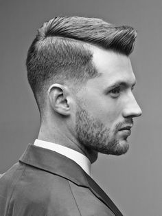 "Hair Trends From Around The World. Sometimes we forget to ""Pin for the MEN."" Not today. Who wouldn't love this look. It's so dapper."