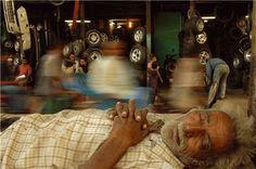 Raghu Rai - Sleeping man