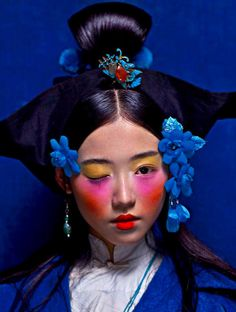 Xin Yuan by Chen Man for i-D