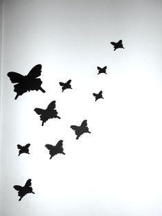 decoração closet borboleta DIY