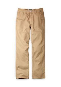 Mountain Khakis Yellow Mens Original Mountain Pant Slim Fit