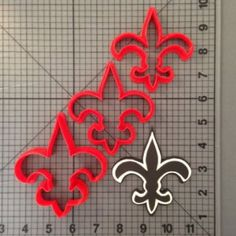 New Orleans Saints Cookie Cutter Set