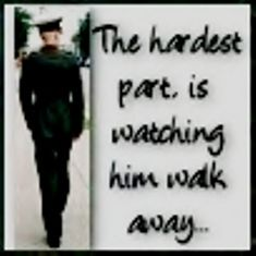 Every time.. It gets to me the most.  I hate to see him go, but I sure love to watch him leave.