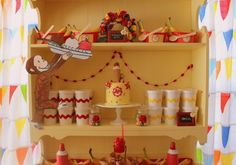 The cutest curious george party