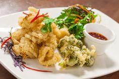 Szechuan Squid with Salt and Pepper | Victoria Haneveer #calamari #chinesefood