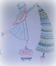 putting up the tree hand embroidery pattern pdf