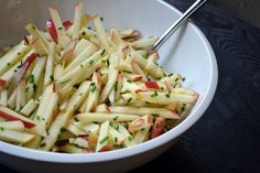 Apple Manchego Salad