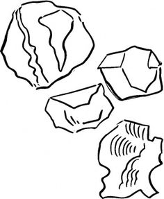 rock coloring pages 25 Best Rocks & Shells for Mike images | Shells, Coloring books  rock coloring pages