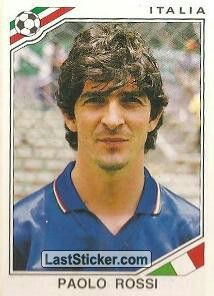Paulo Rossi Mexico World Cup, Mexico 86, America Album, Fifa World Cup, Trading Cards, Baseball Cards, Sports, Image, Euro