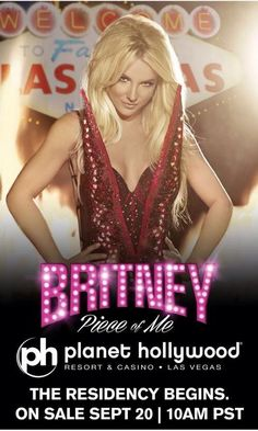 Britney Spears lands Las Vegas residency at Planet Hollywood!