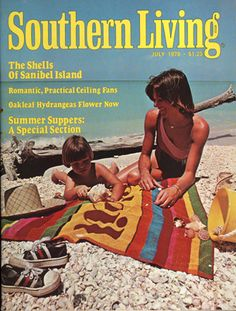 July 1978 | The Shells of Sanibel Island  The magazine that started my case of Sanibel Fever