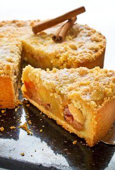Tarte pommes et bananes façon crumble – Les recettes de cuisine et mets