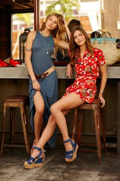 "ralphlauren  ""Sun-faded and sand-skimming – summer dresses are your new  everyday essential. eeefdb69428"