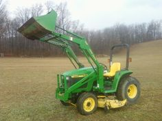 John Deere drive-over hydraulic lift mower deck. John Deere quick attach front-end loader. Local, one owner garage-kept premium tractor with only 147 hours. Tractors For Sale, Trucks For Sale, Diesel Engine, Lawn Mower, Outdoor Power Equipment, 4x4, Nice, Reading, Books