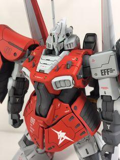 """らば on Twitter: """"とりあえず本体だけですがリックディジェ アムロ専用機完成しました〜😆 ゼータ顔に変更してバックパックを追加しました😆… """" Gundam Model, Mobile Suit, Location History, Baby Car Seats, Twitter, Model Kits, Weapons, Moon, Sculpture"""