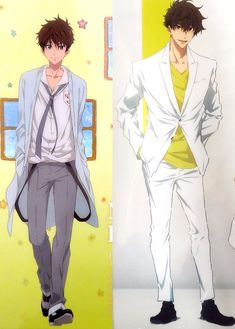 Natsuya grew UP
