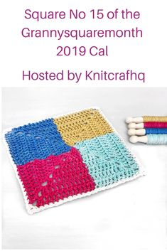 25 granny squares to be made into a crochet blanket! Granny Squares, Crochet Designs, Free Pattern, Blanket, Photo And Video, Sewing Patterns Free, Blankets, Cover, Comforters
