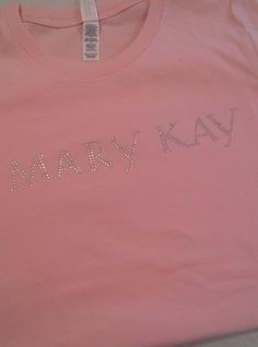 MARKY KAY RHINESTONE TEE http://www.smartypantsboutique.com/custom-apparel/blingin-it-with-smarty-pants-boutique/advocare-custom-bling-tees-clone-en.html