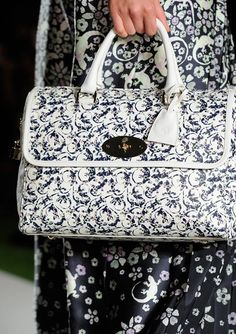 Mulberry Del Rey in Printed Leather