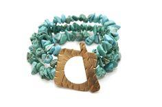 @11Main Flora Bracelet - Turquoise: We're reintroducing the Flora Bracelet based on customer demand! We've improved the design ...