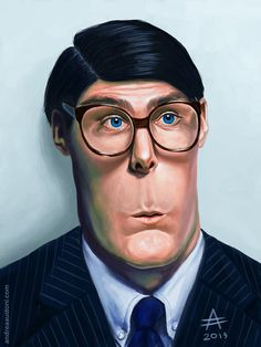 1978 Superman Christopher Reeve as Clark Kent (500×666)