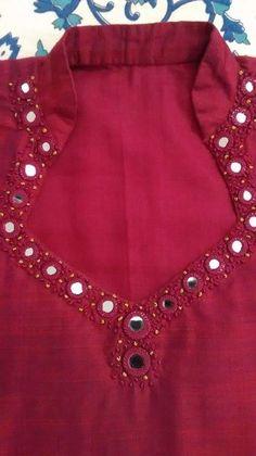 Chudidhar Neck Designs, Salwar Neck Designs, Churidar Designs, Kurta Neck Design, Neck Designs For Suits, Neckline Designs, Kurta Designs Women, Designs For Dresses, Blouse Neck Designs