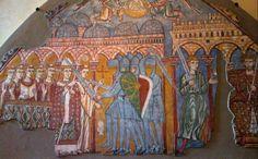 Assassinio di Saint Thomas Becket. XIII secolo. Museo Diocesano  di Treviso