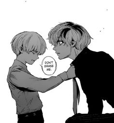 Look at me, Haise I'm not strong