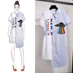 48 New Ideas Fashion Design Sketches Casual Art – Fashion Models Couture Mode, Couture Fashion, Couture Style, Trendy Fashion, Korean Fashion, Womens Fashion, Fashion Ideas, Kawaii Fashion, Fashion Trends