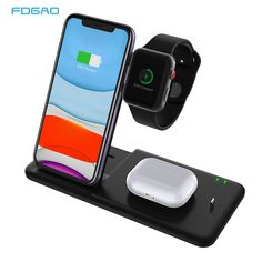 Multimedia Bluetooth Call Audio Multi-Function Charging Treasure for Samsung Galaxy S10//S9//S8 Plus Note 9//8 iPhone Xs Max//XR//X Mouse Pad with Wireless Charger