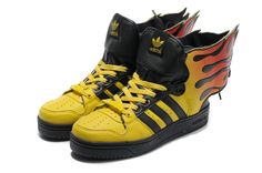 finest selection e0172 868a3 Jeremy Scott Adidas Adidas Wings 2.0 Flames Shoes Adidas Jeremy Scott  Wings, Nike Zoom,