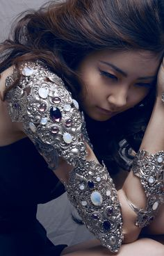 Armour Sleeve with Jewels