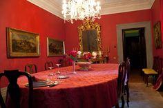 Villa Paolina Bonaparte interior ,Lucca ,Italy