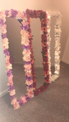 Decoration ideas for girls Bedrooms – 5 age groups – 5 ideas Dream rooms – Colorful Baby Rooms Cute Room Decor, Flower Room Decor, Diy Room Decor For Girls, Wall Decor, Bedroom Ideas For Women, Diy Room Decor For College, Diy Mirror Decor, Girls Bedroom Organization, Diy Room Decor