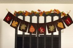 icandy handmade: (tutorial) thankful banner